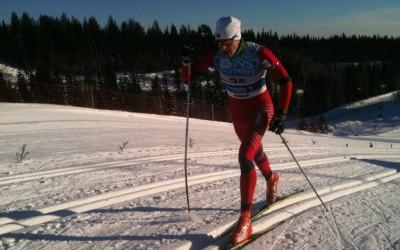 Sander med tredjeplass på KM sprint, Dombås